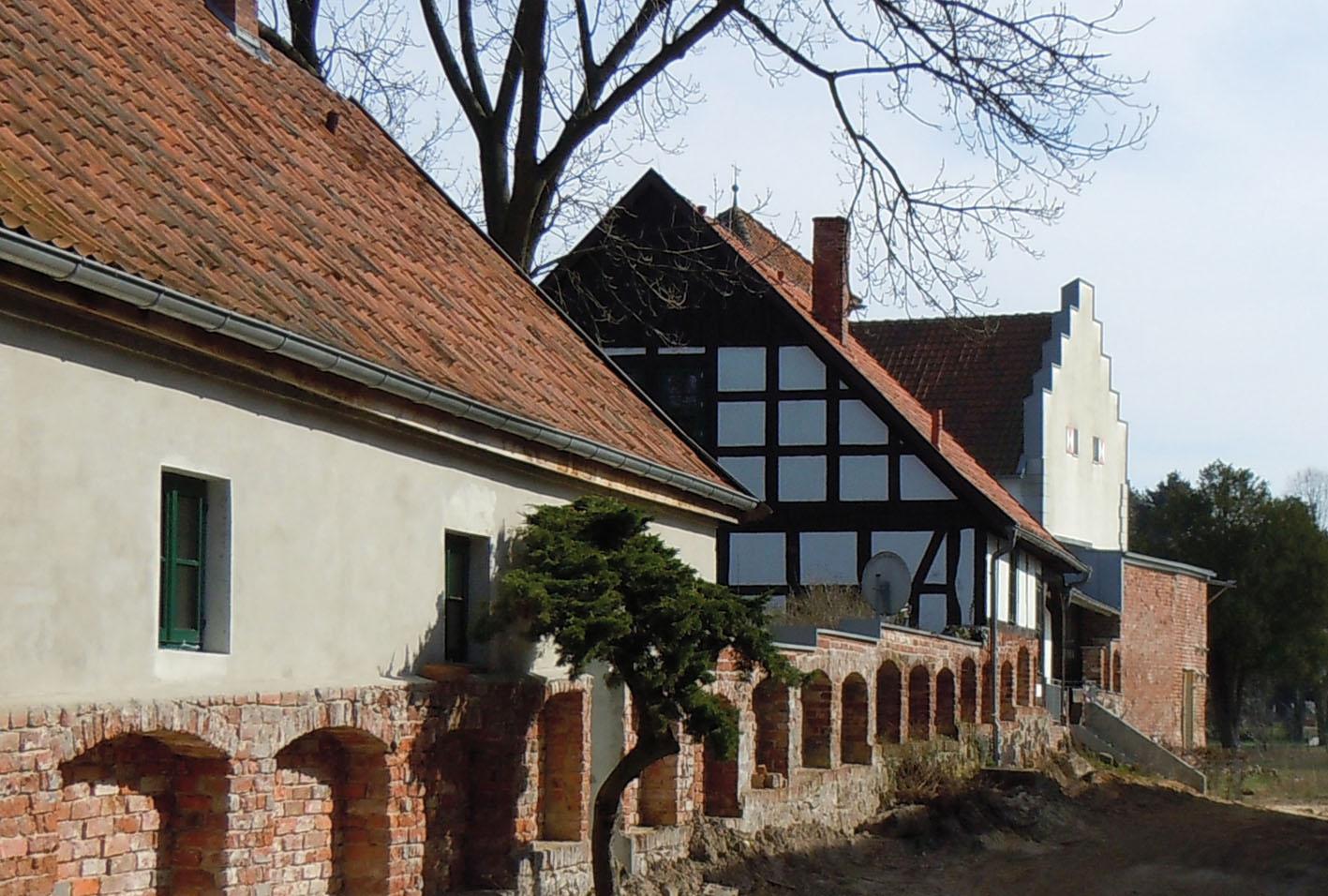 Rethems alte Burgmauer / Foto: Margret Dannemann-Jarchow