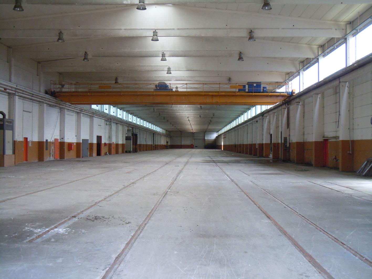 Eine der Toschi-Hallen, heute im Besitz der EGRA / Bild: Margret Dannemann-Jarchow