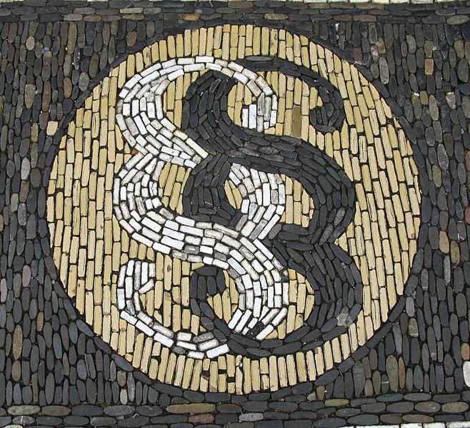 Mosaik aus Paragraphenzeichen