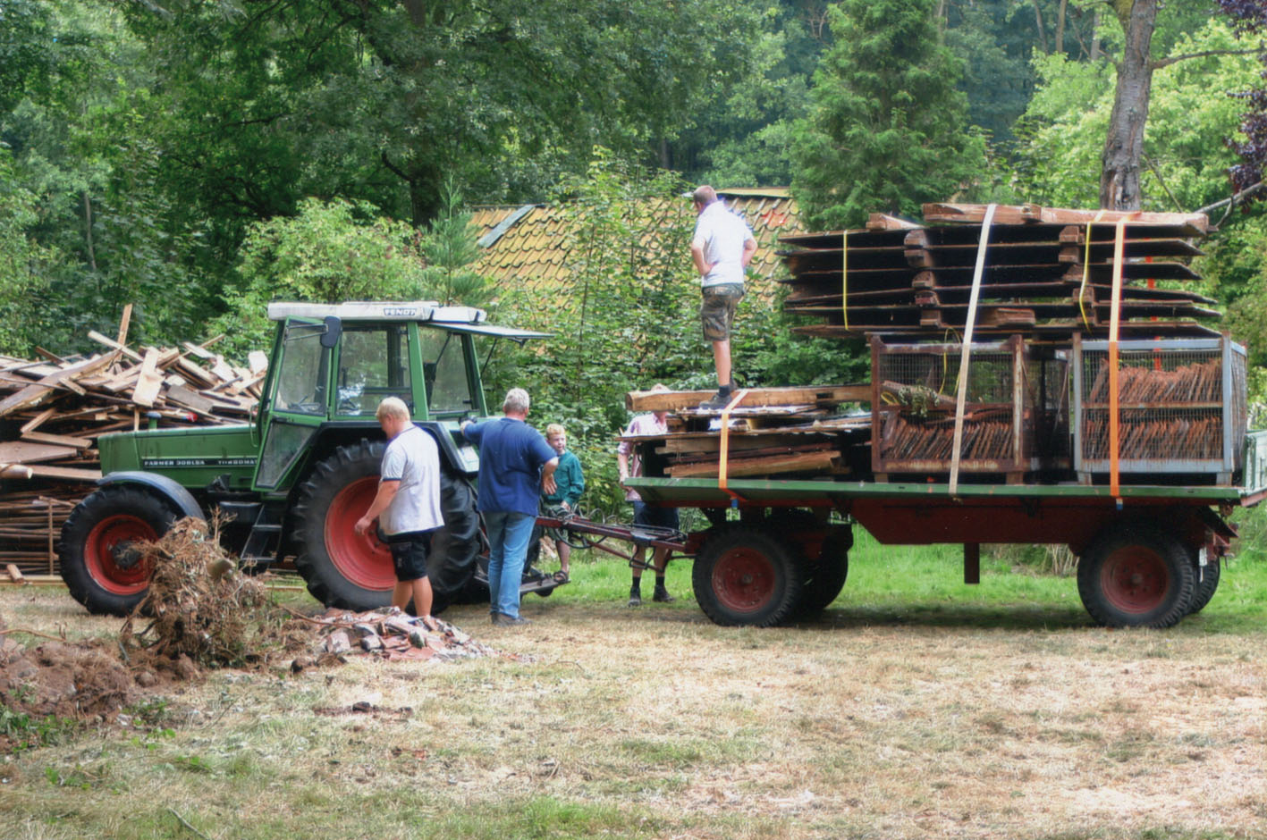 Der Speicher vor dem Abtransport / Foto: Dieter Moll