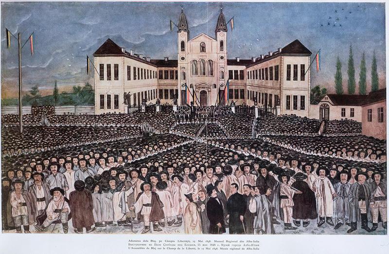 Bürger und Rathaus / Bild: Public Domain, wikimedia