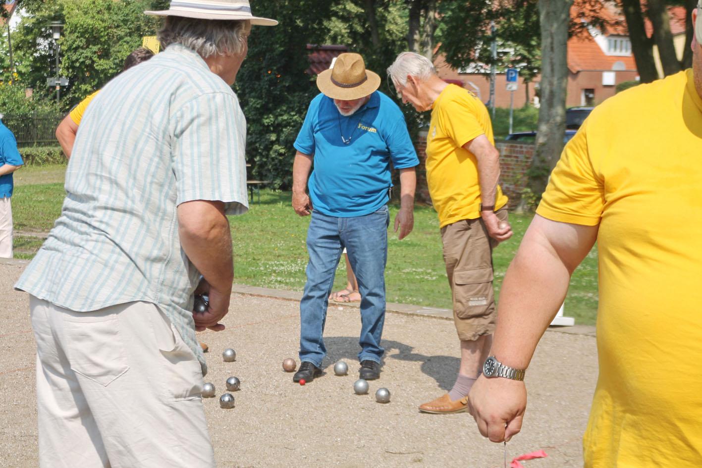 Die 'Fußprobe' / Foto: Reiner Dittmers