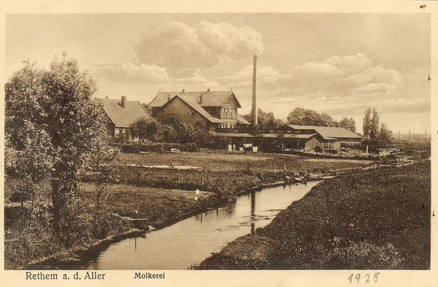 Die Molkerei in Rethem / Foto: Stadtarchiv