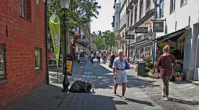 Städter sind relativ ärmer dran / Foto: Jonn Leffmann, Creative Commons, wikimedia