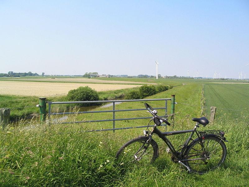 Auch das Fahrrad muss da weg / Foto: Southpark, Creative Commons, wikimedia