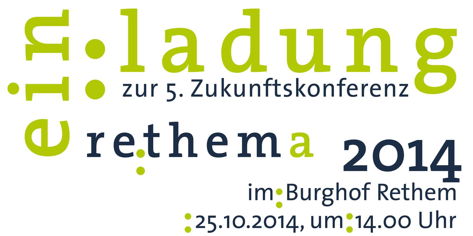 Plakat zur Rethema 2014