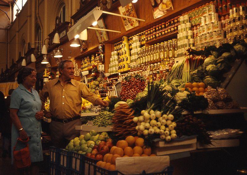 Macht Appetit - Markthallen anderswo / Foto: Holger Ellgaard GNU-Lizenz, wikimedia
