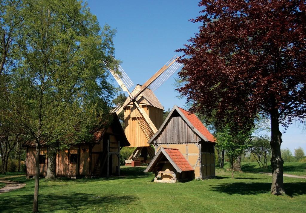 Restaurierte Bockwindmühle, Bild: Margret Dannemann-Jarchow