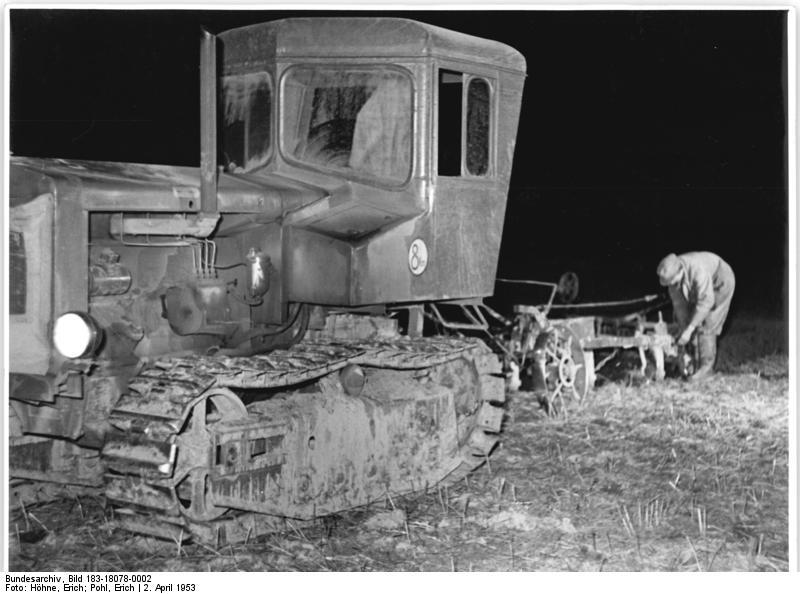 Bis in die Nacht / Bild: Bundesarchiv, wikimedia / CCL