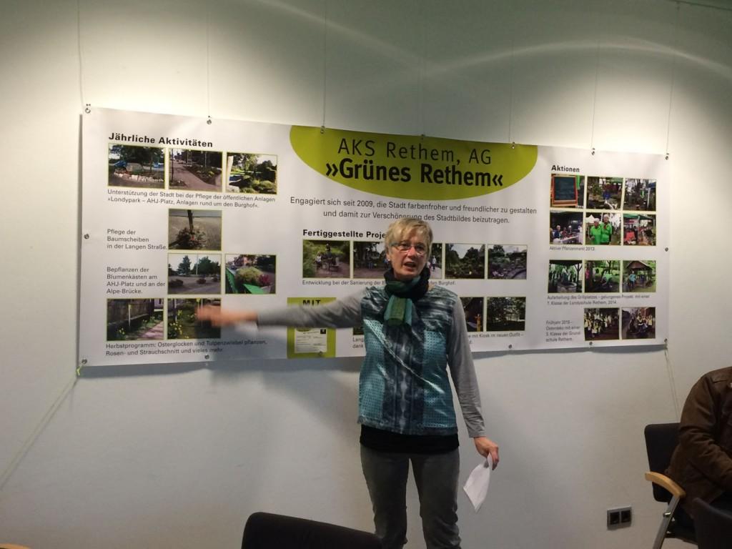 Rethema 2015, AG Grünes Rethem / Foto: Anne Trebilcock