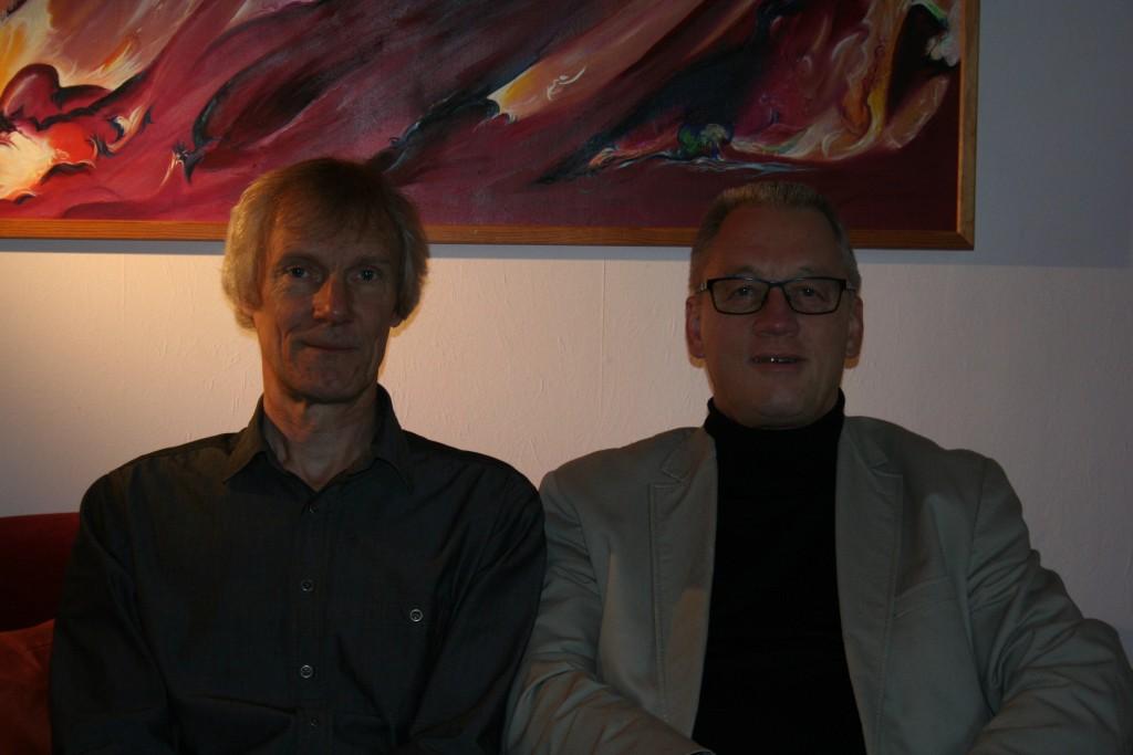 Die beiden Musiker / Bild: Forum Rethem